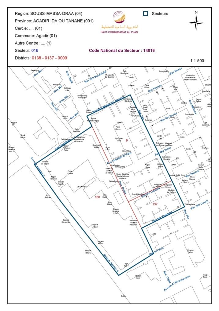 Cartographie du recensement