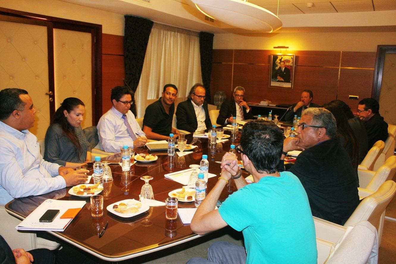 Campagne de communication du RGPH 2014 : Réunion avec les radios privées