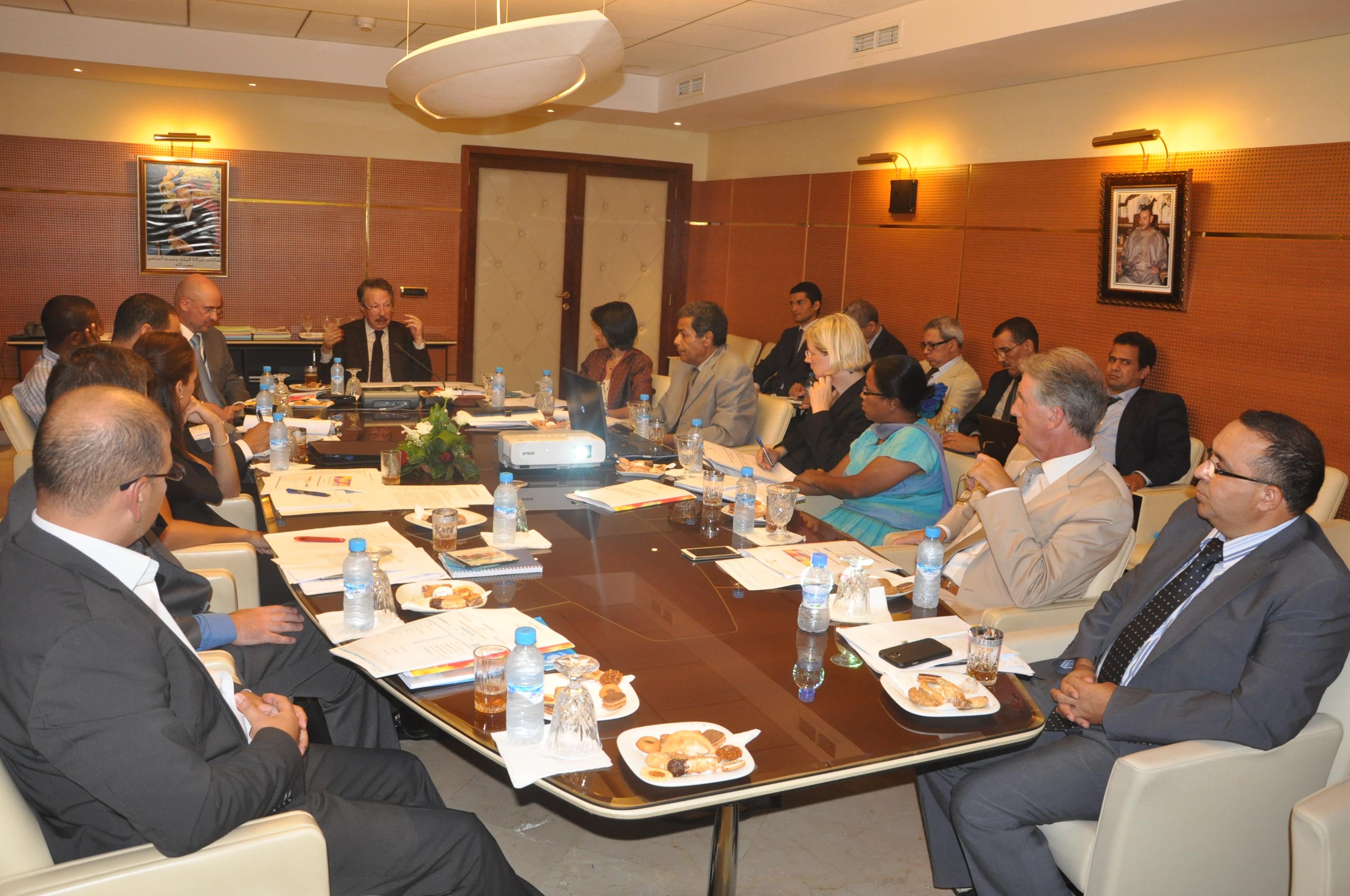 RGPH 2014 : Rencontre avec les représentants des Agences du Système des Nations Unies au Maroc