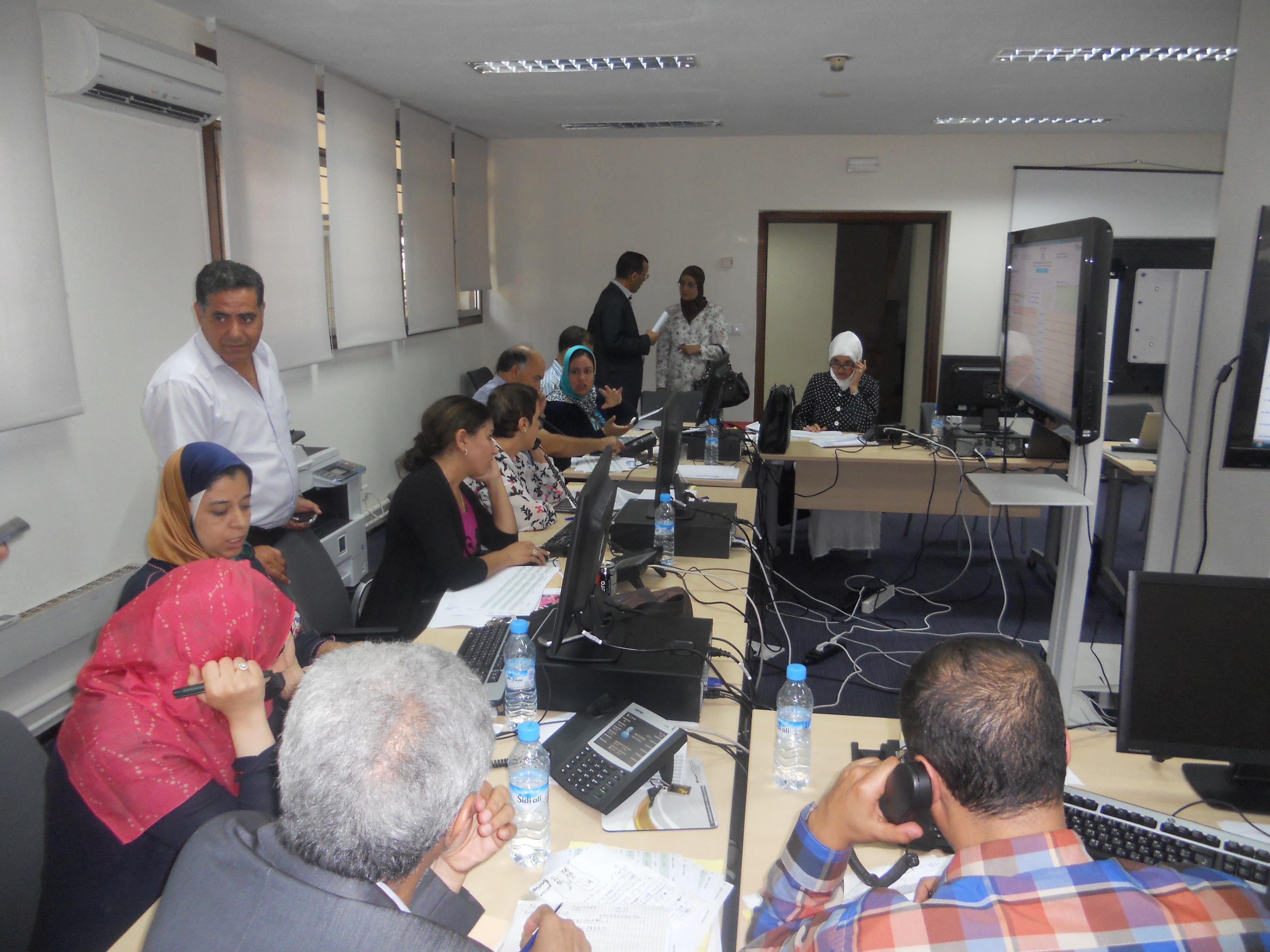 Mise en place d'un Quartier Général pour le suivi de l'exécution du RGPH 2014