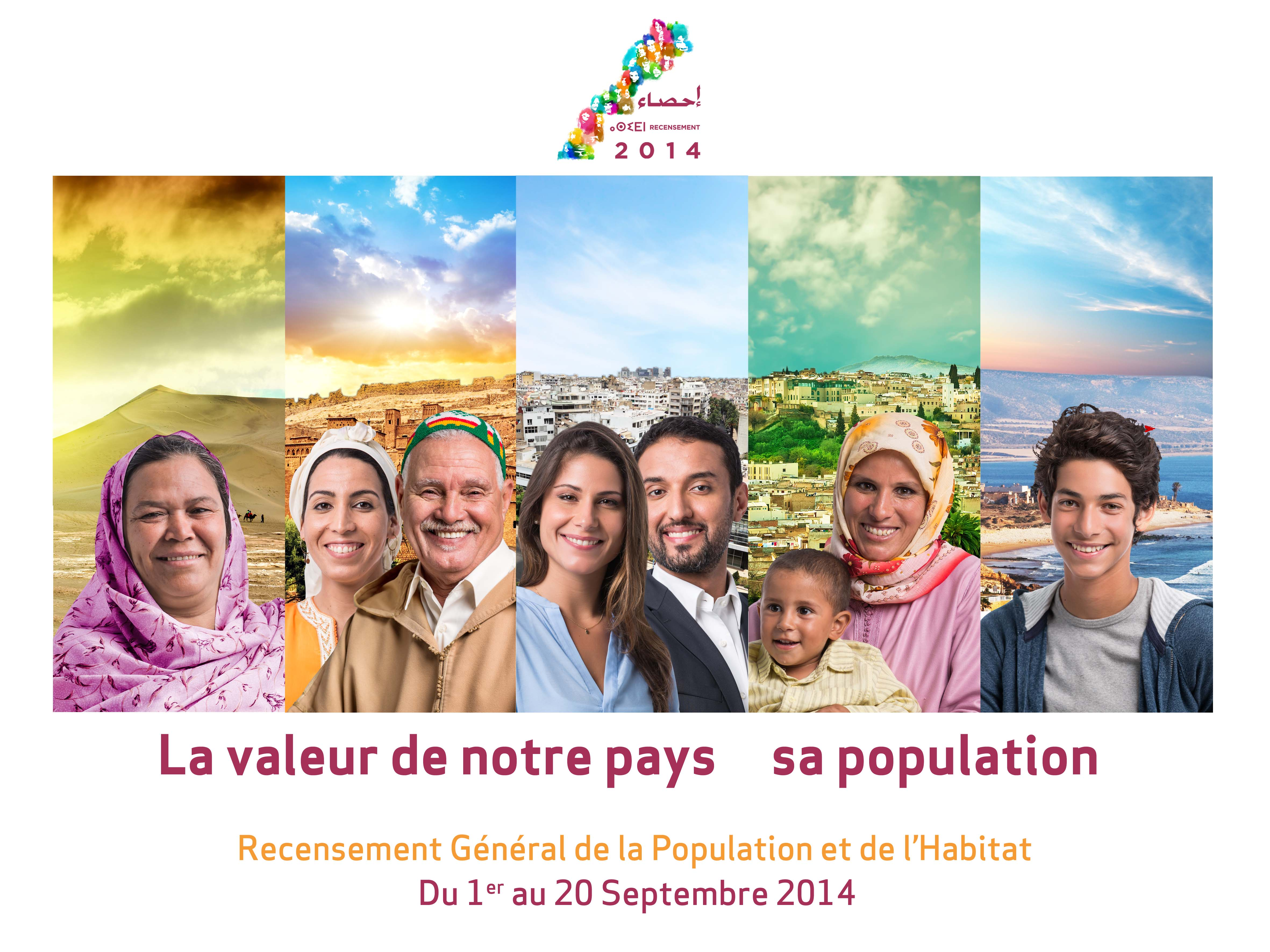 Note sur les premiers résultats du Recensement Général de la Population et  de l'Habitat 2014