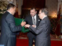 SM le Roi reçoit le Haut-commissaire au Plan